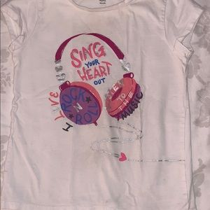 Short sleeve shirt or a little girls